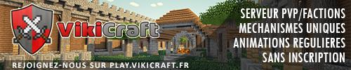 Serveur Minecraft VikiCraft